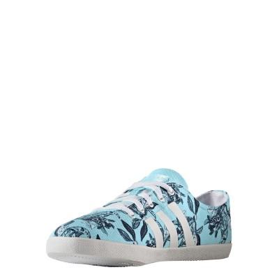 Pantofi sport cu imprimeu floral Adidas CLOUDFOAM QT VULC W B74584