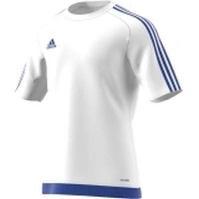 Tricou alb pentru bărbați Adidas ESTRO 15 JSY S16169