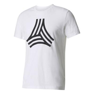 Tricou alb pentru bărbați Adidas  NEW TANK T-SHIRT BP7259