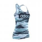 Tricou sport pentru femei Adidas ESS L TANK AOP AY4818