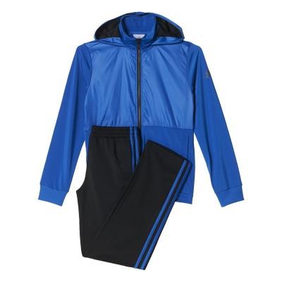 Trening albastru-negru pentru copii Adidas YB TS KN  AX6344