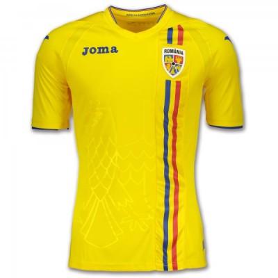 Joma 1ST T-SHIRT F.F. ROMANIA RM.101011.18 YELLOW S/S