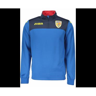 Bluză sport albastră pentru bărbați JOMA TRAINING F.F.ROMANIA ROYAL  RM.211011.17