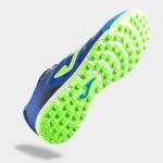 Ghete fotbal albastre pentru bărbați JOMA SUPER REGATE 904 SREGW.904.TF ROYAL TURF