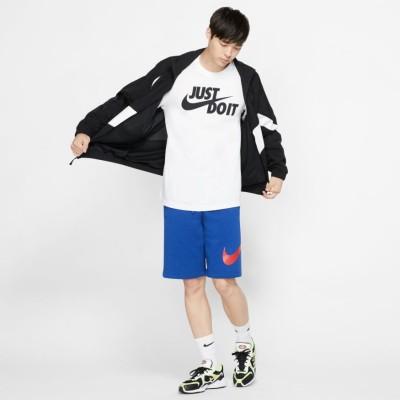 Tricou alb pentru bărbați NIKE M NSW TEE JUST DO IT SWOOSH AR5006-100